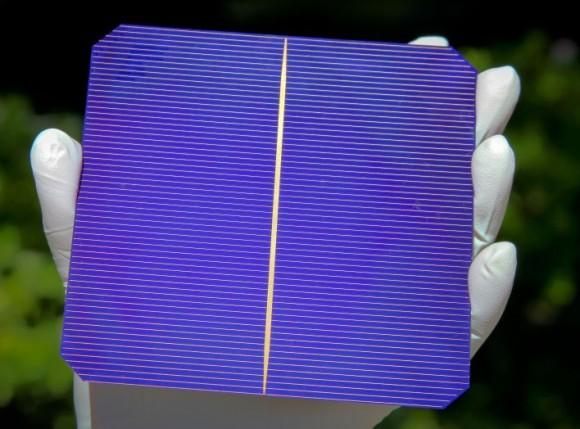 Fotovoltaický solární článek vyrobený technologií společnosti Silevo