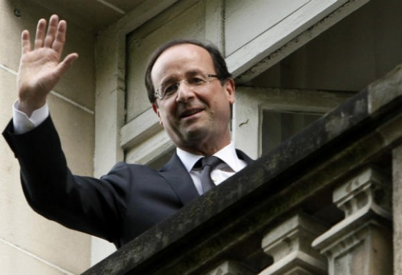 Prezident Francie, Francois Hollande, je silným kritikem energetické politiky předcházející vlády. Zdroj: CSmonitor.com
