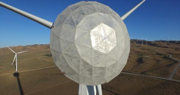 Nový experimentální typ větrné turbíny společnosti GE. foto: GE