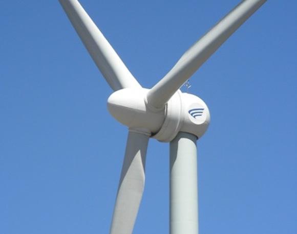 Větrná turbína čínské společnosti Goldwind, foto: Goldwind