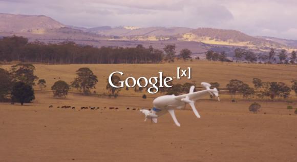 Létající robotičtí droni neboli automatické stroje by mohly v budoucnu doručovat zboží nebo jiné zásilky. foto: Google X