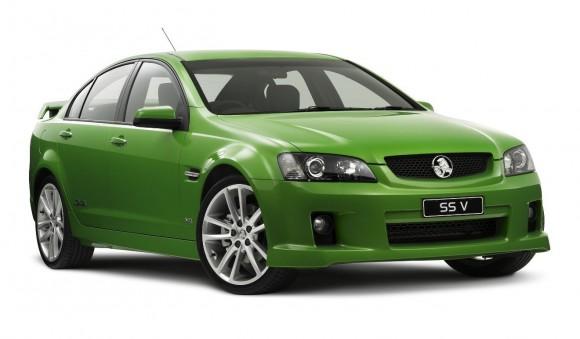 Holden Commodore SSV na kterém je postavena i elektrická přestavba, foto: Holden