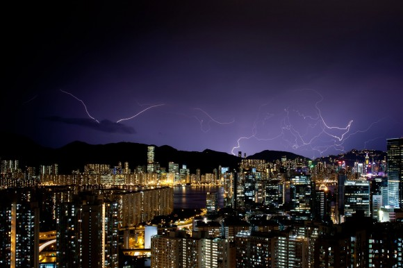 Hong-Kong není výjimkou - i tato metropole zásadně ovlivňuje své klimatické okolí, foto: michaelp99/sxc.hu