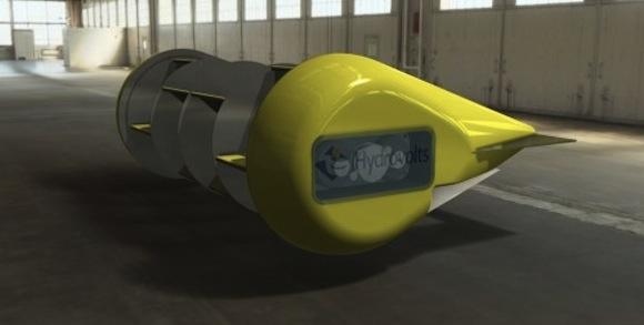 Hydrovolts - vodní turbína
