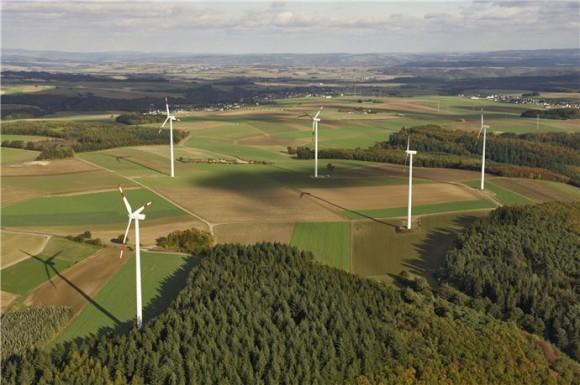Větrná farma španělské společnosti Iberdola Renewables, foto: IR