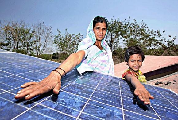 Indie sází na energii ze Slunce, foto: Renewable Power