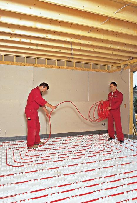 Instalace podlahového vytápění nemusí být složitá. foto: BAUMAX