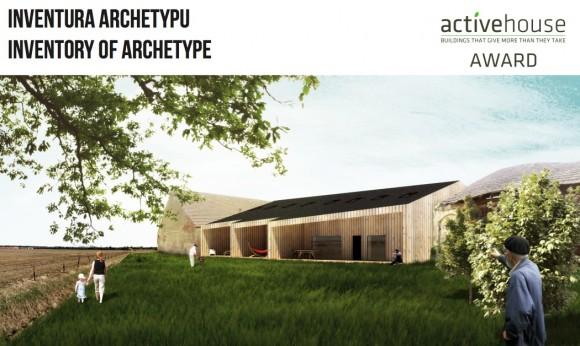 1. místo v kategorii novostavby - projekt Inventura archetypu, foto: VELUX