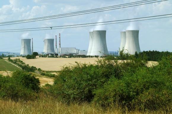 Jaderná elektrárna Dukovany, Česká republika, foto: ČEZ