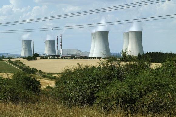 jaderná elektrárna Dukovany ČEZ Česká republika