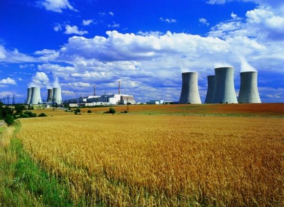 Jaderná elektrárna Dukovany společnosti ČEZ, foto: (c) ČEZ