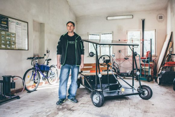 Jaromir Marz elektromobil