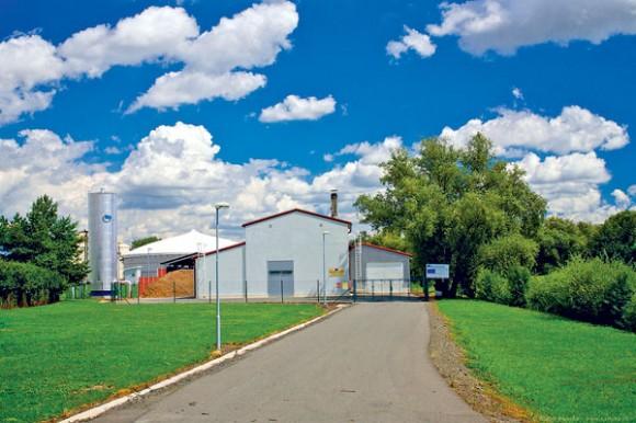 Bioplynová stanice v Kněžicích začala velkou (nejen) energetickou proměnu této vesnice. foto: Kněžice
