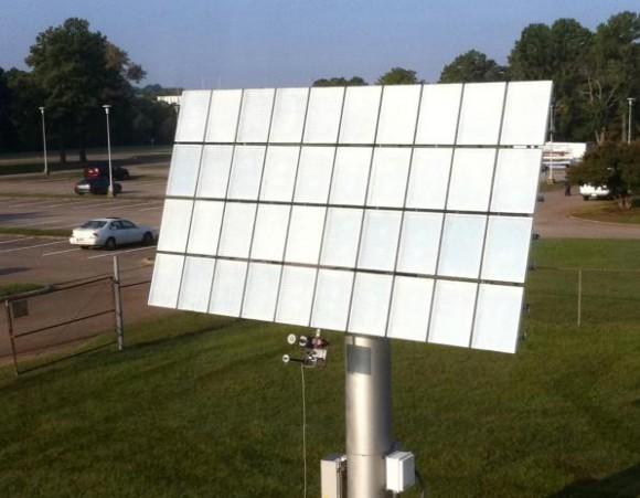 Koncentrační fotovoltaika, solární panel Semprius, foto: Semprius
