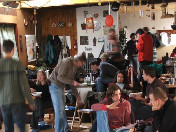 Tančírna nabídla pro kurz přírodního stavitelství útulné prostory, foto: Ekologické bydlení