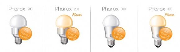LED žárovky Pharox, foto: Pharox