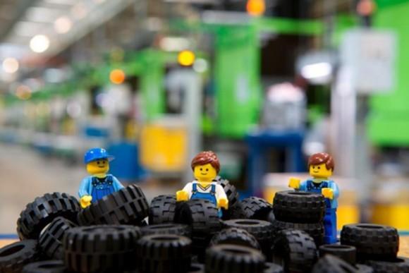 LEGO je největším výrobcem pneumatik na světě. foto: LEGO
