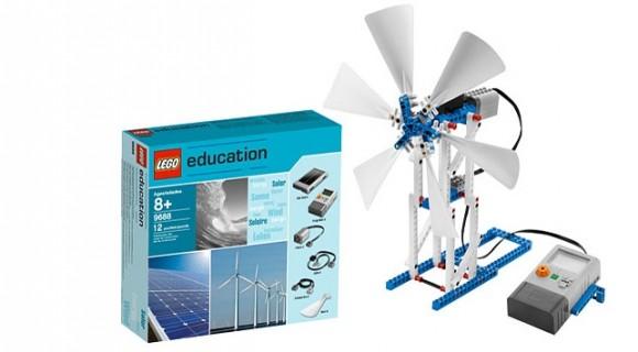 LEGO už nabízí větrné turbíny také jako své stavebnice, foto: LEGO