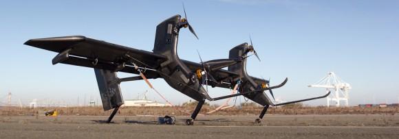 Prototyp 30kW létající větrné turbíny Makani Power, foto: Makani Power