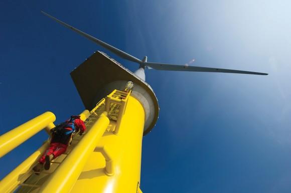 Britové se mohou pyšnit největší/nejvýkonnější pobřežní větrnou farmou na světě. Elektrárna London Array byla oficiálně uvedena do provozu. foto: London Array