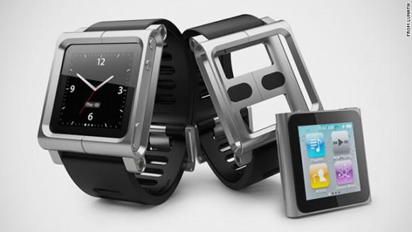 Lunatik Nano Watch - náramkové hodinky, do který stačí zasadit MP3 přehrávač iPod Nano - a iWatch jsou na světě. foto: Lunatik