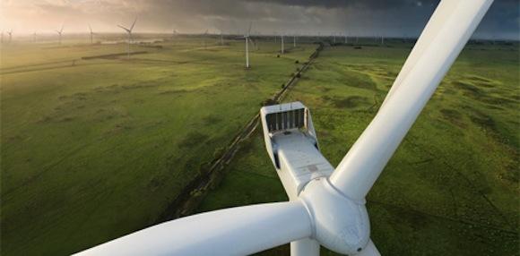 Nová Mcarthurova větrná farma v Austrálii je s výkonem 420 MW největší na jižní polokouli, foto: Vestas