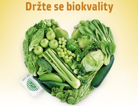 Začíná Měsíc biopotravin. Drže se biokvality. zdroj: Měsíc biopotravin