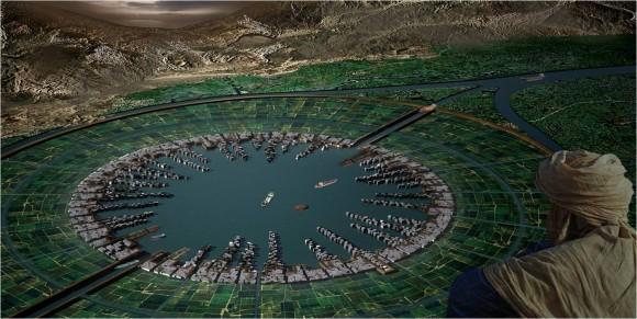 Řeka Nil byla odedávna životodárnou tepnou, přinášející povodněmi do zelených údolí vláhu a úrodnou půdu. přehrady tento cyklus zastavily. Zdroj: Marion Ottmanová