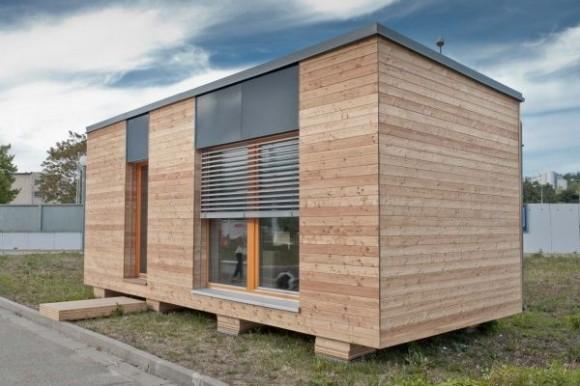 Mobilní pasivní dům bude v dražbě od 1 Kč, foto: Centrum pasivního domu