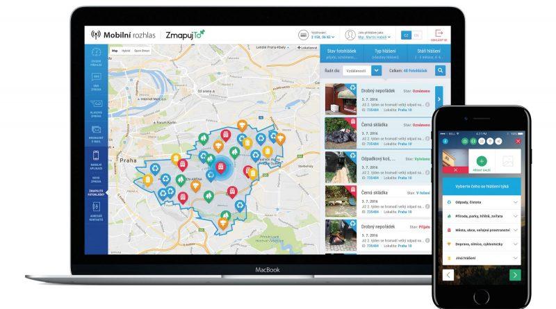 Spojení online služeb Mobilní rozhlas a ZmapujTo.cz přinese obcím u obyvatelům zcela nové možnosti