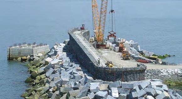 Mutriku - mořská vlnová vodní elektrárna