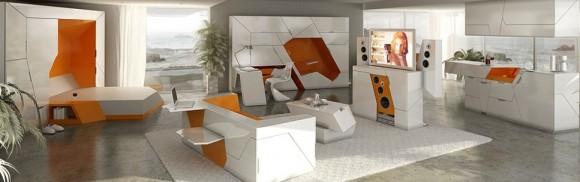 Obývací pokoj Boxetti - náročný design pro nenáročné, foto: Boxetti