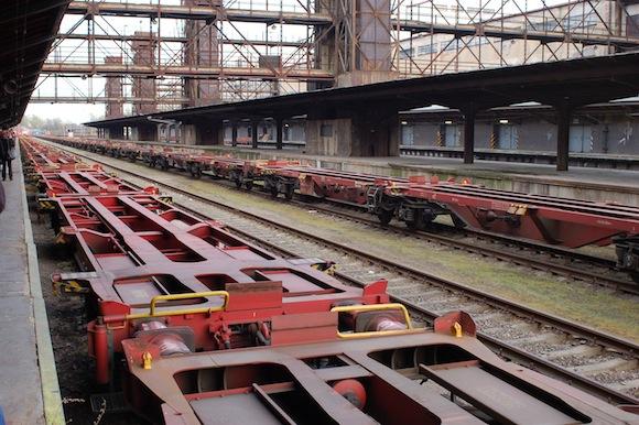 Nákladkové nádraží zabírá obrovskou plochu. Mnoho odborníků vidí jako chybu vše zlikvidovat. foto: Martin Singr - Ekologické bydlení