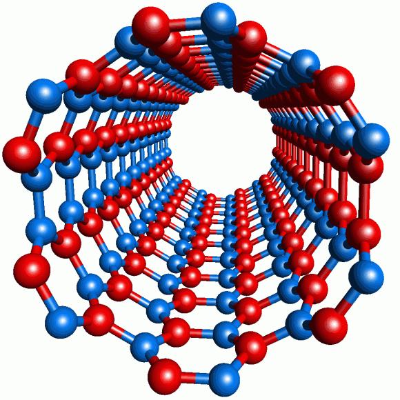 Nanotrubičky jsou dnes v oblasti nanotechnologií jedním z nejčastěji skloňovaných pojmů, mají totiž výjimečné vlastnosti, foto: nano-bio.ehu.es