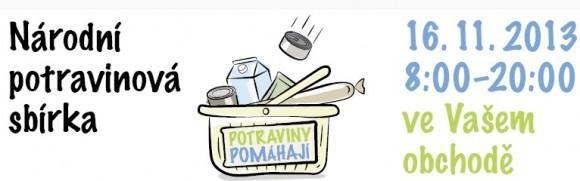 Do první Národní potravinové sbírky se můžete zapojit i vy! foto: www.potravinypomahaji.cz