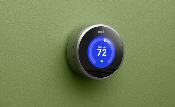 Nest - chytrý termostat Tonyho Fadella, tvůrce iPodu a iPhone, foto: Nest