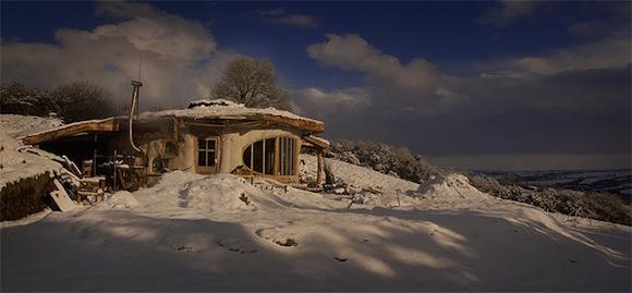 nízkoenergetický rodinný přírodní dům Simon Dale