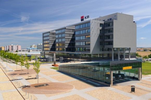 Nová kancelářská budova Komerční banky v Praze - inteligentní a šetrná budova, foto: KB