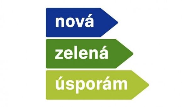 Logo programu Nová zelená úsporám 2013. obrázek: MŽP, SFŽP