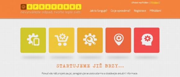 Web Opravárna.cz si klade za cíl vytvořit komunitu lidí, které baví opravovat rozbité věci.