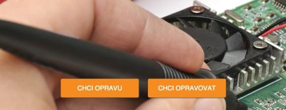 Na webu Opravárna.cz si můžete nechat opravit rozbitou elektroniku nebo jiné zařízení