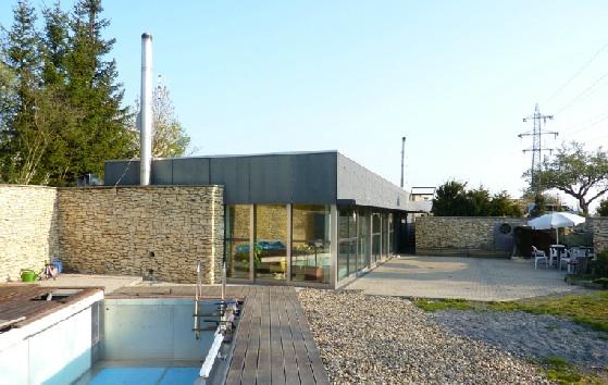 Ostrovní dům architekta Pavla Fojta, foto: Pavel Fojt