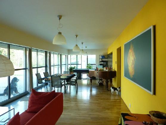 Interiér ostrovního domu Pavla Fojta, foto: Pavel Fojt