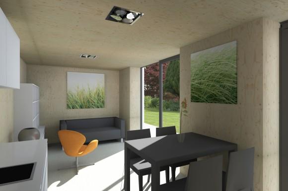 Pasivní domek se bude stavět přímo na stavebním veletrhu v Brně, foto: Centrum pasivního domu