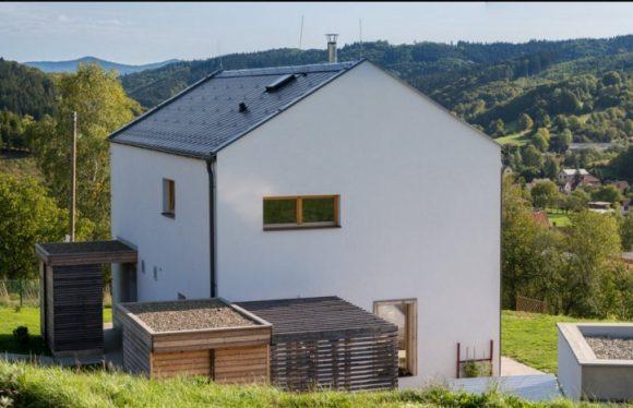 Pasivní dům v Beskydech. foto: Dřevo&Stavby