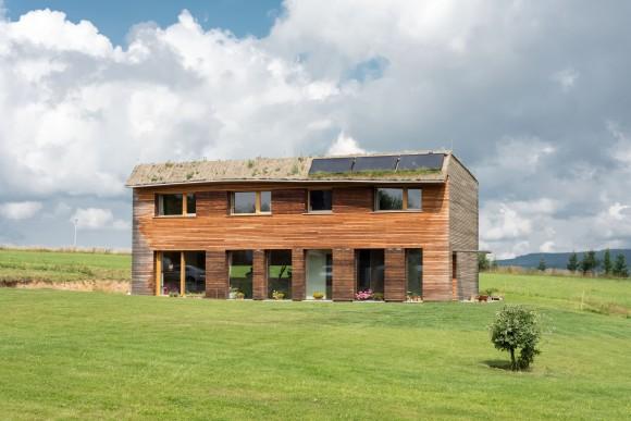 Jeden z mnoha nových pasivních domů v České republice. foto: 3AE