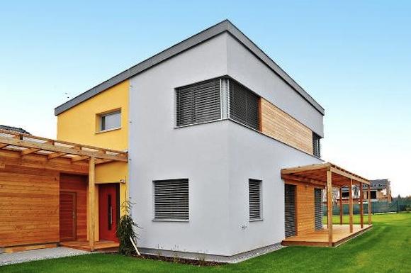 Pasivní dům EPD Brandýs nad Labem, autor návrhu Atelier ARS s.r.o. - ing. arch. Pavel Šmelhau, foto: Centrum pasivního domu