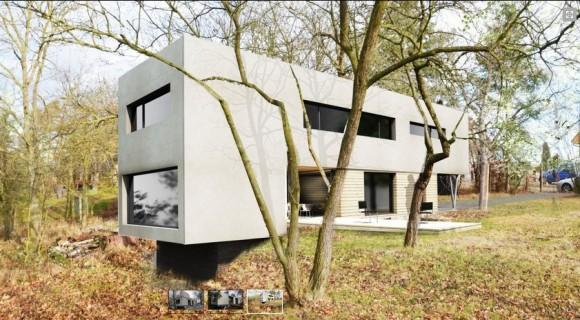 I takhle může vypadat pasivní dům. foto: ing. arch. Korčák Lubomír, via Centrum pasivního domu