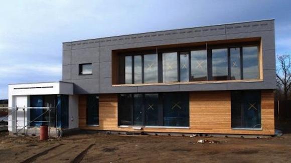 Pasivní rodinný dům ve Františkových lázních, foto: Vize Ateliér, s.r.o./Centrum pasivního domu