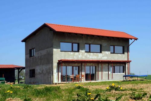 pasivní dům stavba pošta Konešín